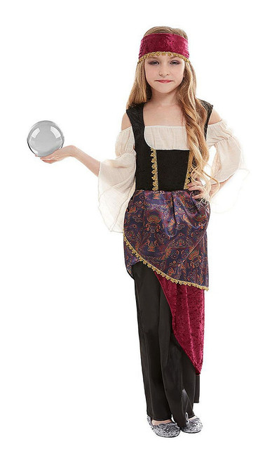 Deluxe Fortune Teller Girl Costume