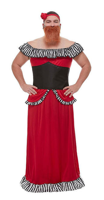 Bearded Lady Man Costume