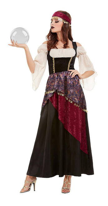 Deluxe Fortune Teller Woman Costume