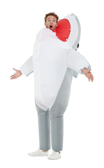 Inflatable Shark Attack Man Costume