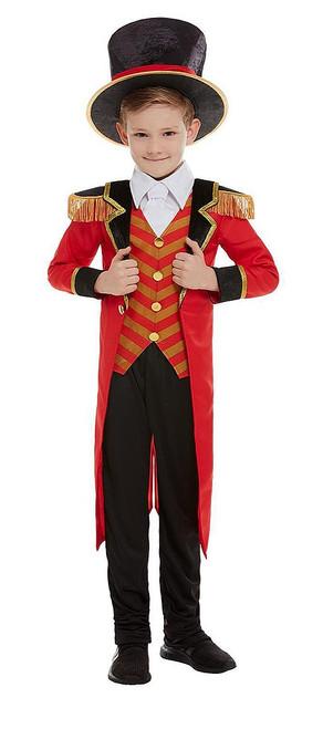 Deluxe Ringmaster Boy Costume