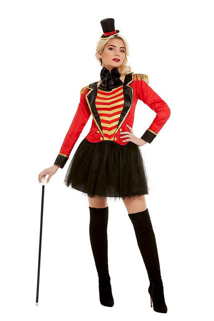Deluxe Ringmaster Woman Costume