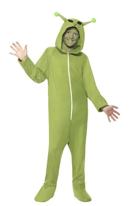 Alien Jumpsuit Boy Costume
