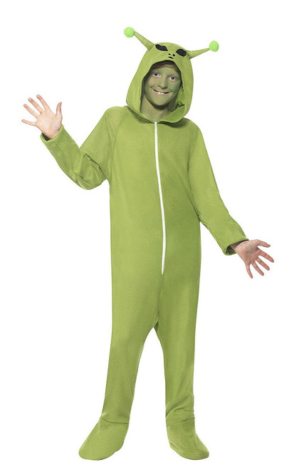 Alien Jumpsuit Boy Costume