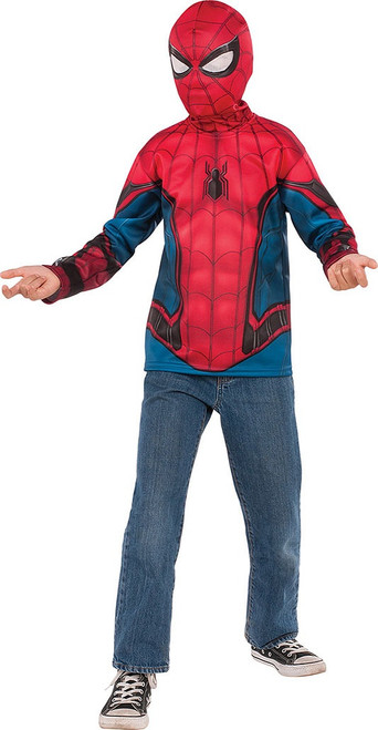 Spider-Man Top Boy with Mask