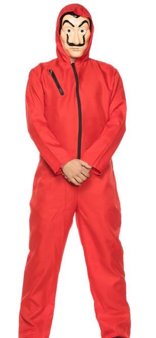 Money Heist Red Man Costume