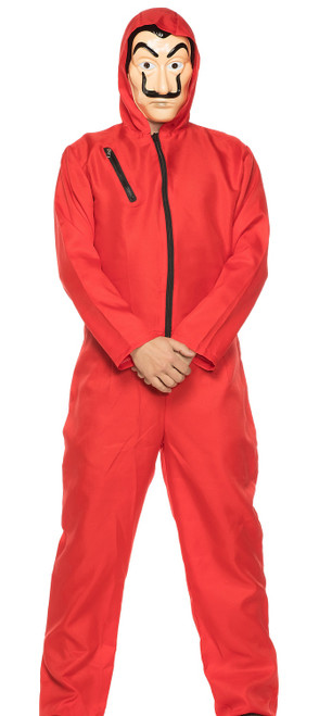 Money Heist Red Man Costume