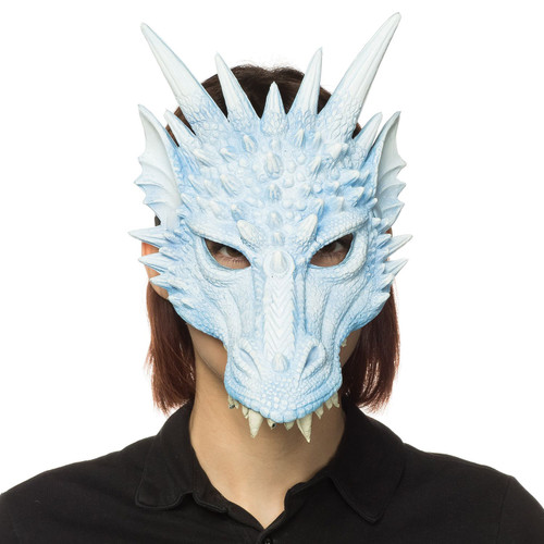 Game of Thrones Ice Blue Dragon Mask