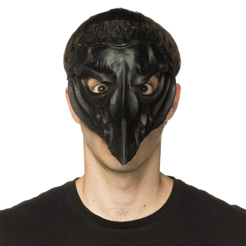 Crow Mask Supersoft Black