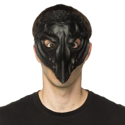 Crow Mask Supersoft Black