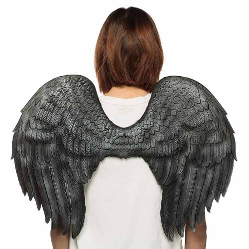 """Angel Wings Black 24"""""""