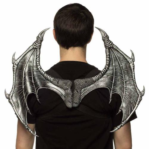 Supersoft Mini Silver Sentinel Dragon Wings