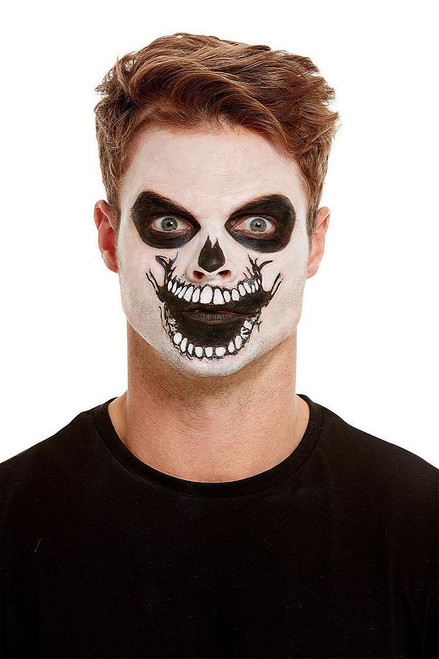 Makeup Skeleton Mouth Transfer