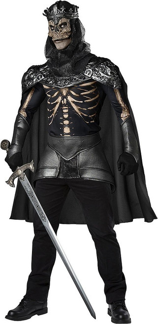 Skeleton King Mens Costume