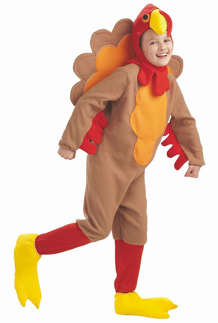 Turkey Jumsuit Boy Costume