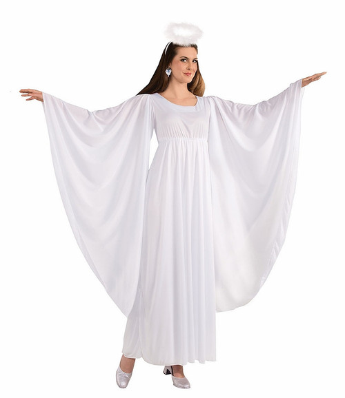 White Angel Woman Costume