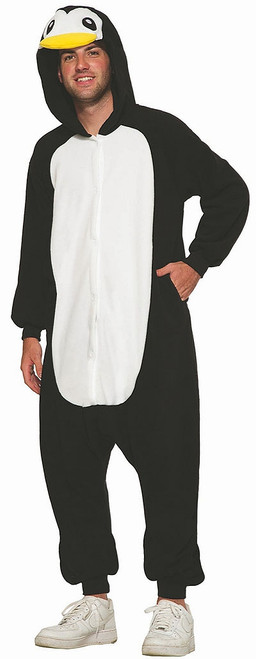 Penguin Onesie Man Costume