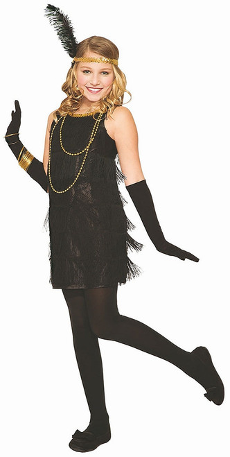 Little Miss Flapper Girl Costume
