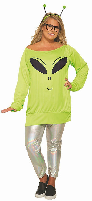 Alien Plus Size Womens Costume