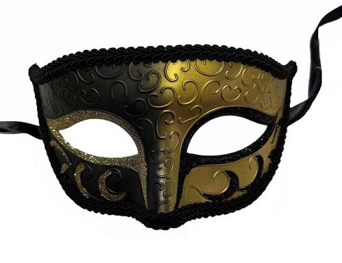 Carnival Mask - Gold