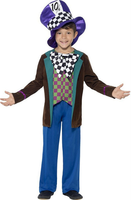 Deluxe Mad Hatter Boy Costume