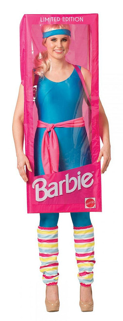 Barbie Box Woman Costume