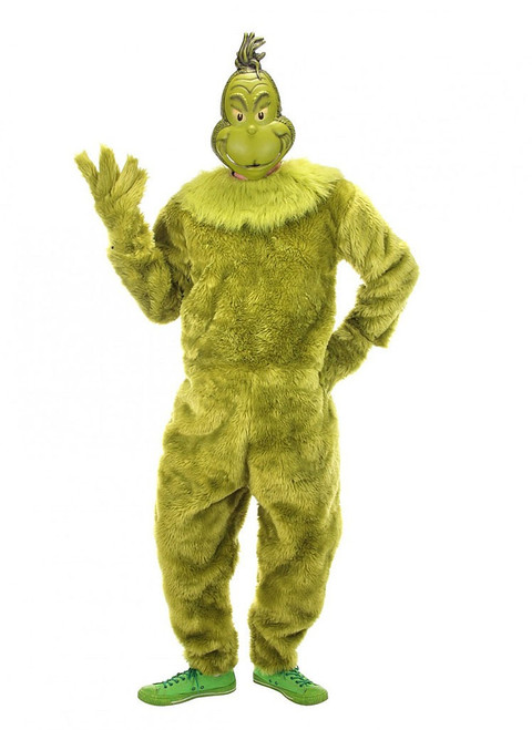 The Grinch Deluxe Jumpsuit Man Costume