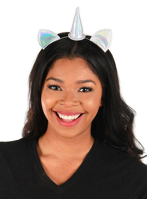 Holographic Mini Unicorn Headband