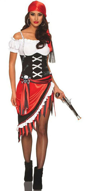 Pirate Vixen Woman Costume