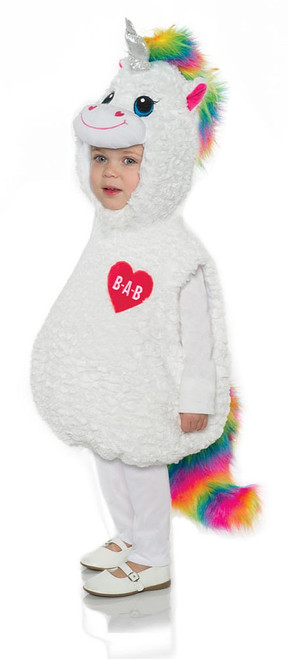 Color Craze Unicorn Belly Baby Costume