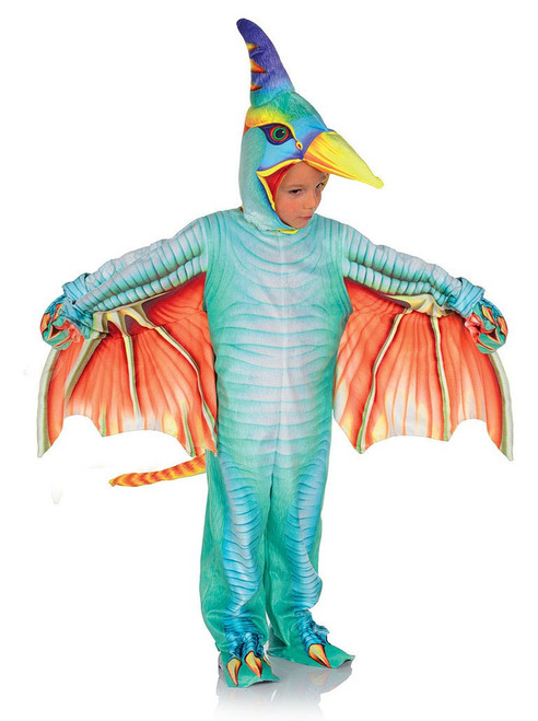Light Blue Pterodactyl Costume