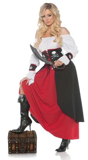 Lady Pirate Dress Costume