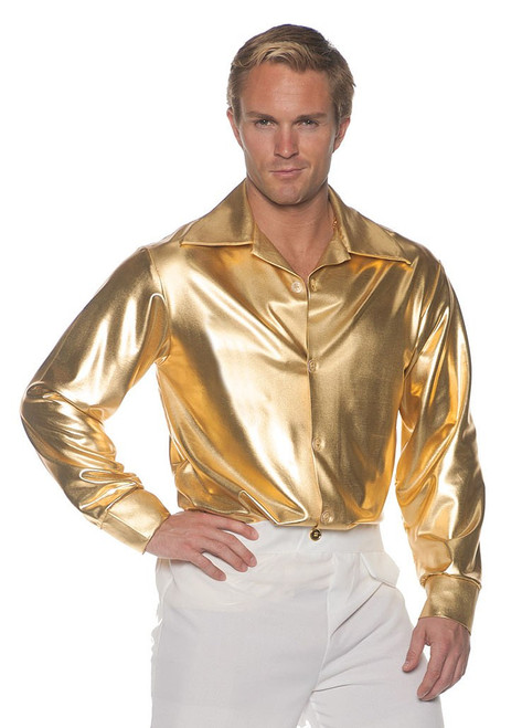 Gold Disco Shirt Costume