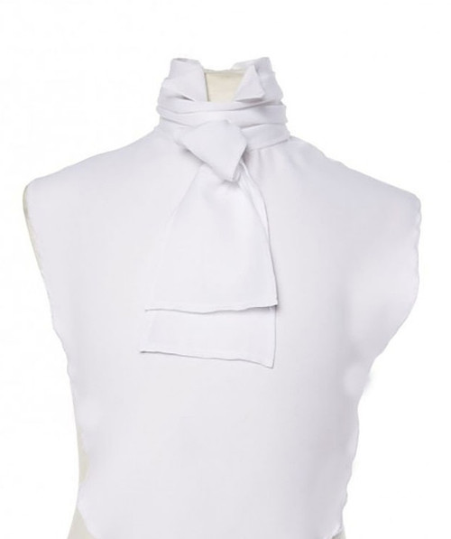 Shirt Front and White Cravat Costume