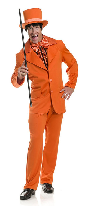 Lloyd Orange Tuxedo Man Costume