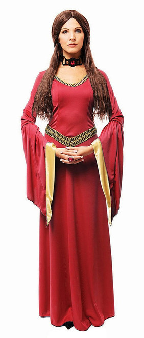 Costume Red Witch Melisandre Adult
