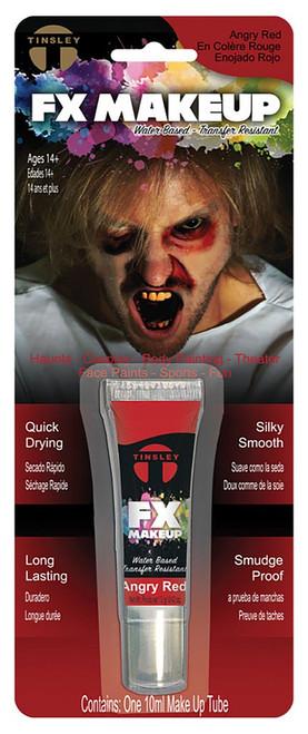 Single Makeup Angry Red
