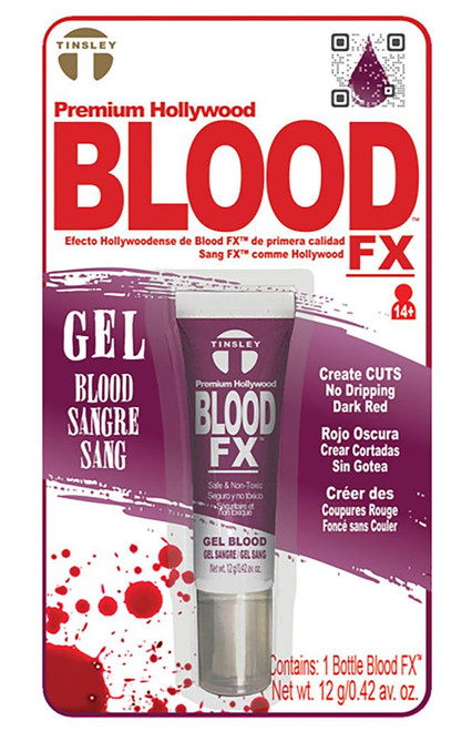 Blood F/X Dark Red Gel