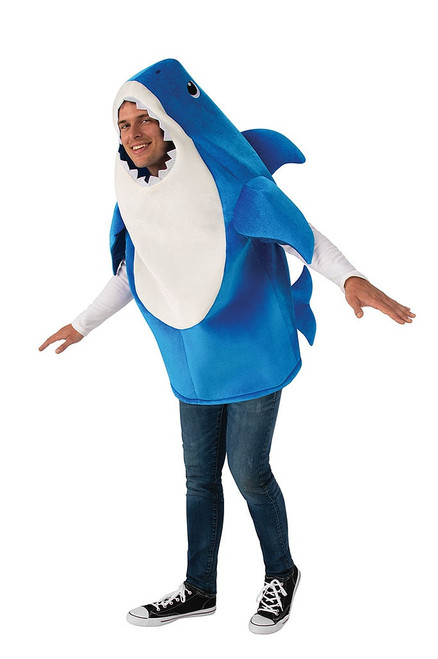Adult Baby Shark Costume - Blue