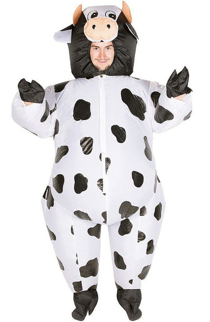 Cow Adult Inflatable Costume