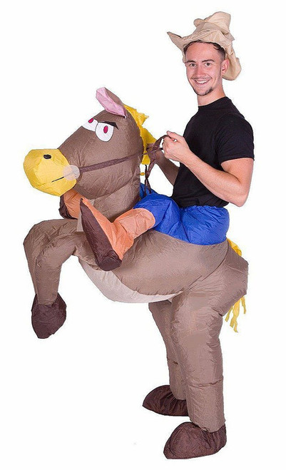 Cowboy Adult Inflatable Costume