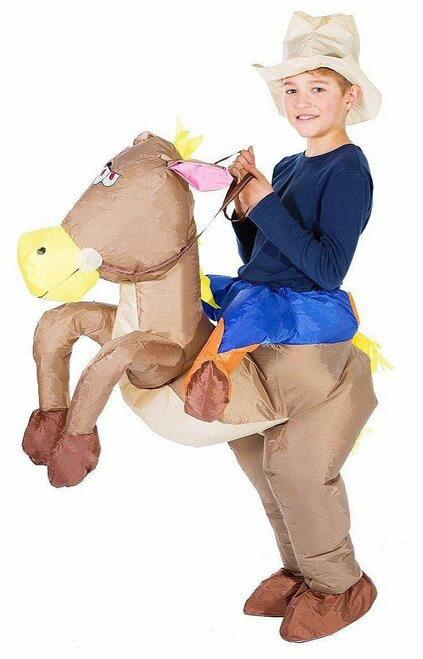 Cowboy Kid Inflatable Costume