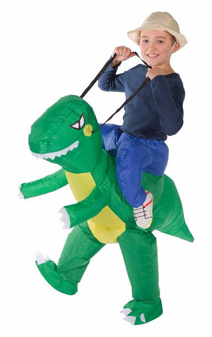 T-Rex Kid Inflatable Costume