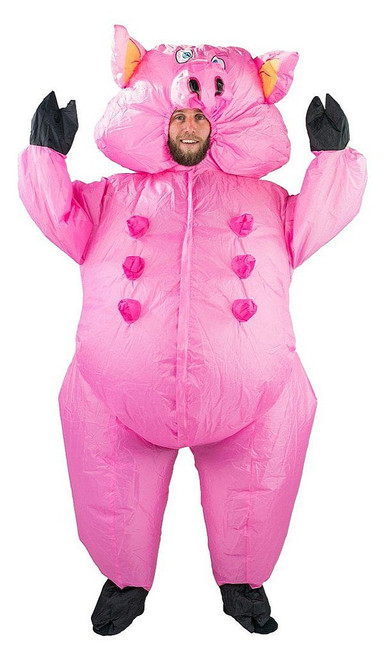 Pig Adult Inflatable Costume