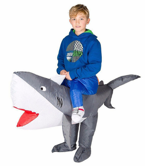 Shark Kid Inflatable Costume