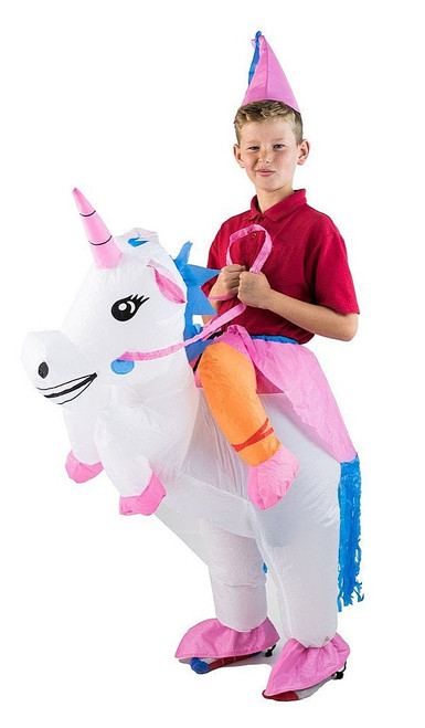Unicorn Kid Inflatable Costume