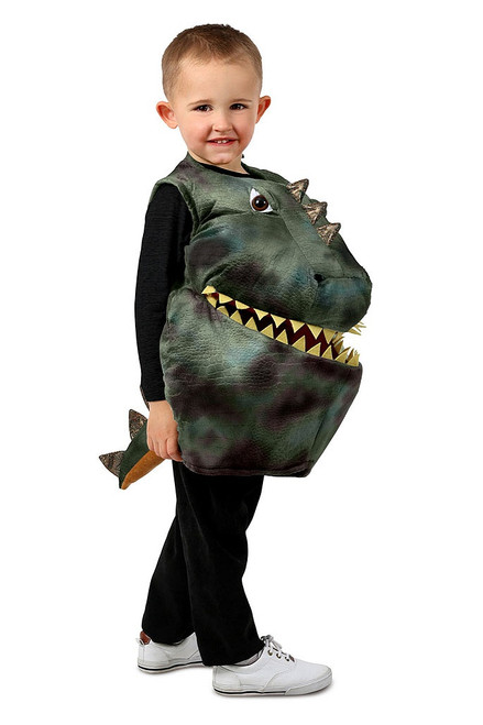 Feed Me Dino Boy Costume
