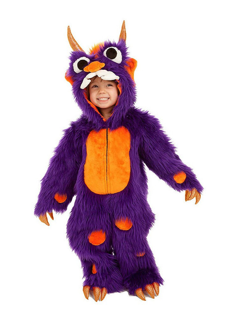 Moris the Monster Jumpsuit Boy Costume