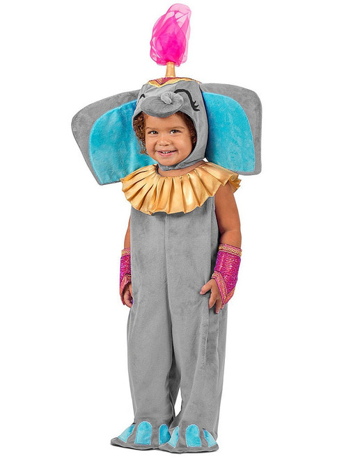 Dumbo Circus Elephant Jumpsuit Boy Costume