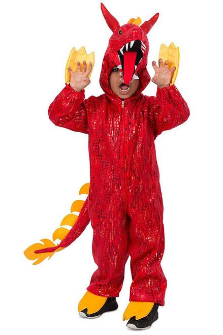 Chinese Dragon Jumpsuit Boy Costume